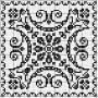 Square 29 | Free chart for cross-stitch, filet crochet | gancedo.eu