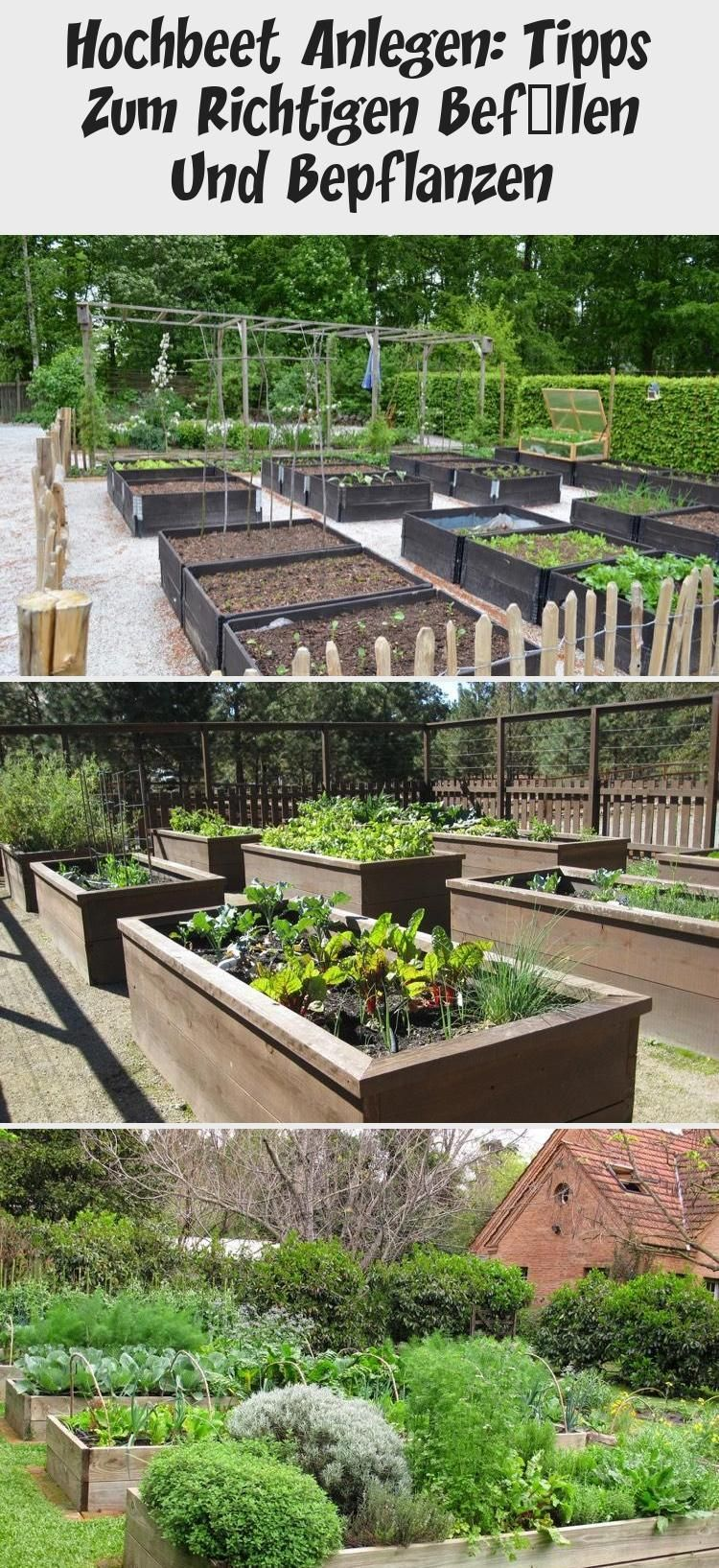 Creating A Raised Bed Tips For Correct Filling And Planting Raised Bed Planting In 2020 Mit Bildern Hochbeet Bepflanzung Hochbeet Anlegen