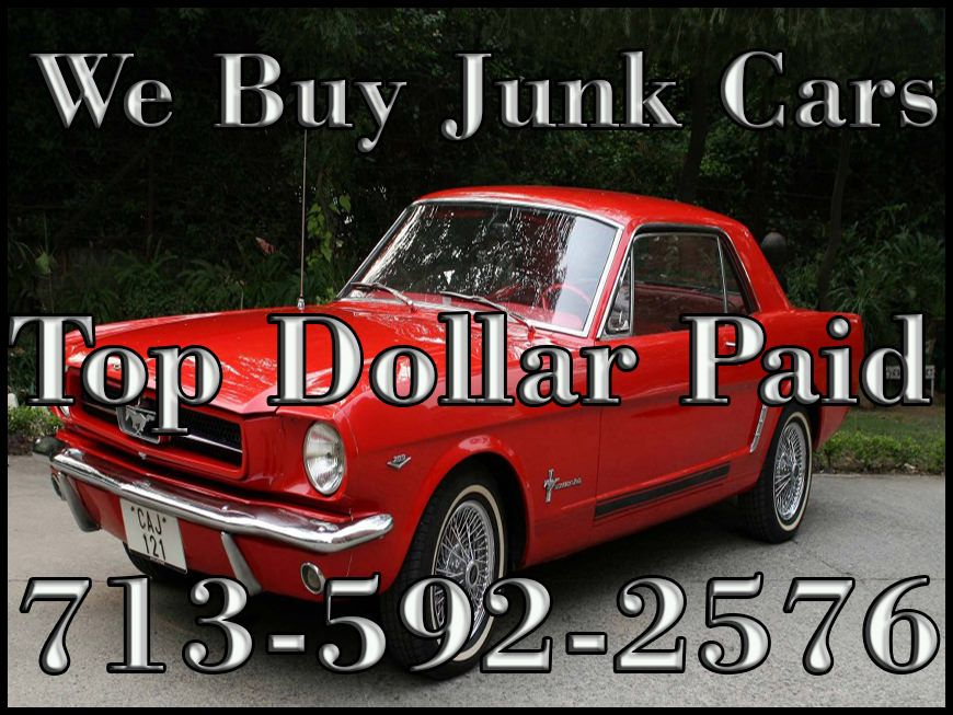 We Buy Junk Cars Running or Not Today - http://houston-junk-car ...