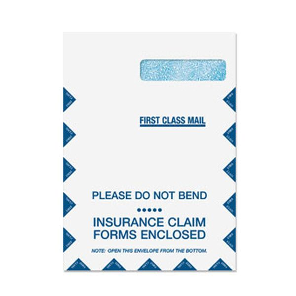 9 X 12 1 2 Claim Form Envelope Top Flap Item Cmsenvlgrw Speed Up Your Insurance Claims By Using Our Compa Envelope Mailing Envelopes Healthcare Professionals