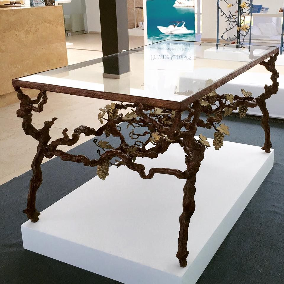 The Vineyard Table By Paula Swinnen. Currently On Display At The Aktis In  Patmos, Greece. Similar To A Coffee Table We Had Which Was Featured In  House ...
