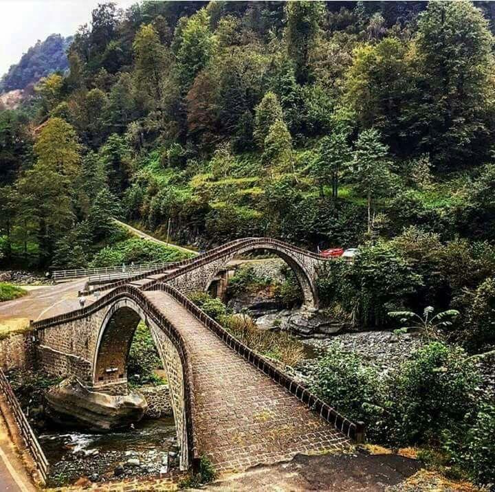 Artvin Arhavi .çifte köprü | Wonders of the world, Landscape pictures,  Nature