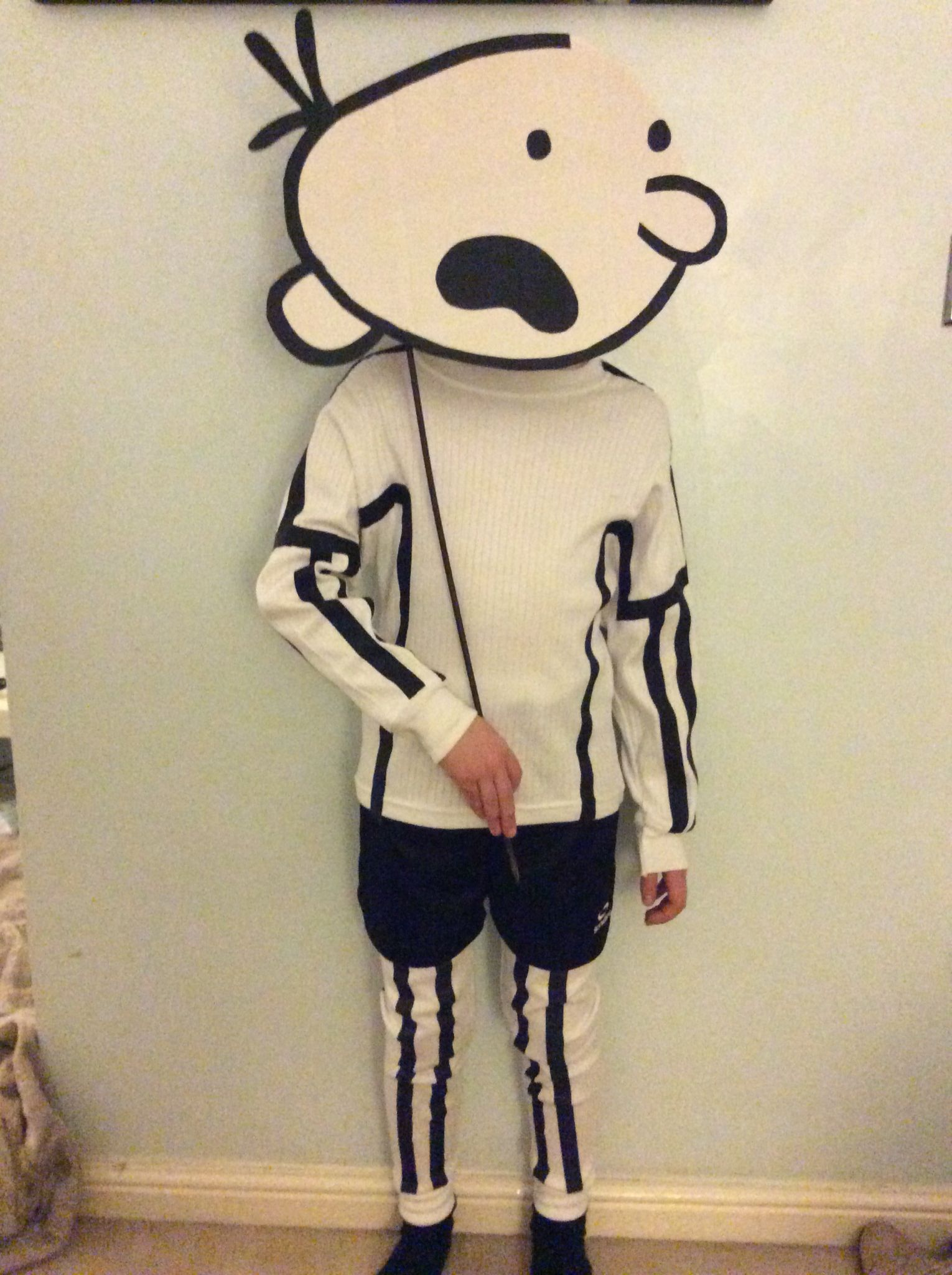 Diary Of A Wimpy Kid Homemade Costume For World Book Day Birthday