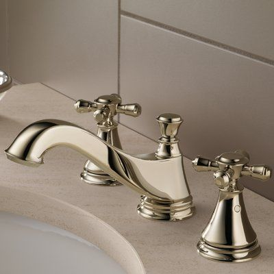 Delta Cassidy Widespread Bathroom Faucet With Drain Assembly