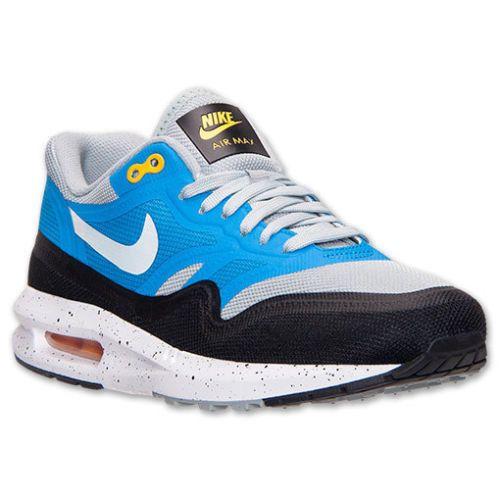 super popular e33aa 0cdb5 NIKE AIR MAX LUNAR 1 SZ 10 SILVER WING PHOTO BLUE WHITE BLACK 654469 001   Nike  RunningCrossTraining