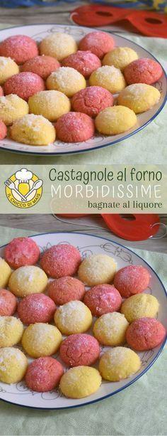 Photo of Castagnole al forno morbide bagnate al liquore ricetta | Il chicc
