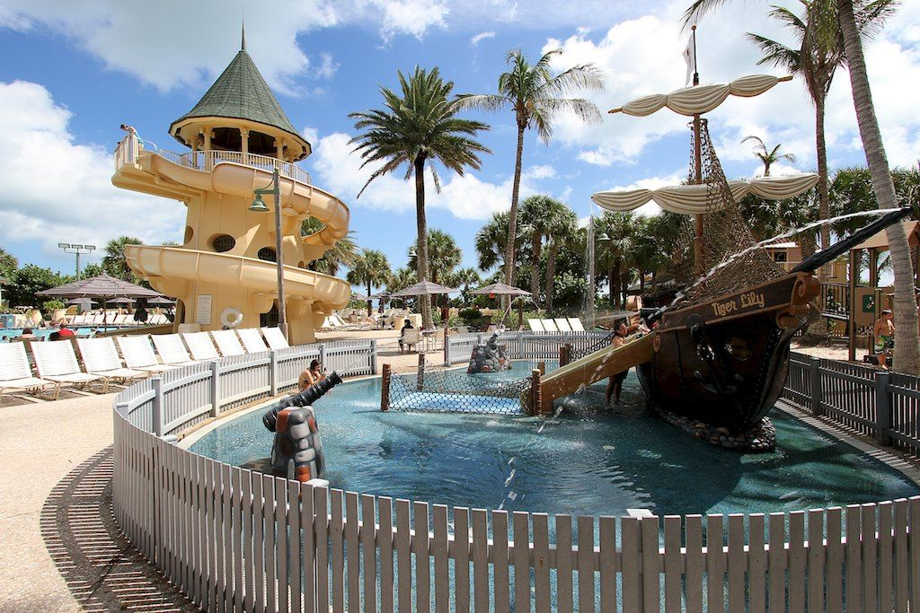 Disney Vero Beach S Resort The Kid Water Play Area