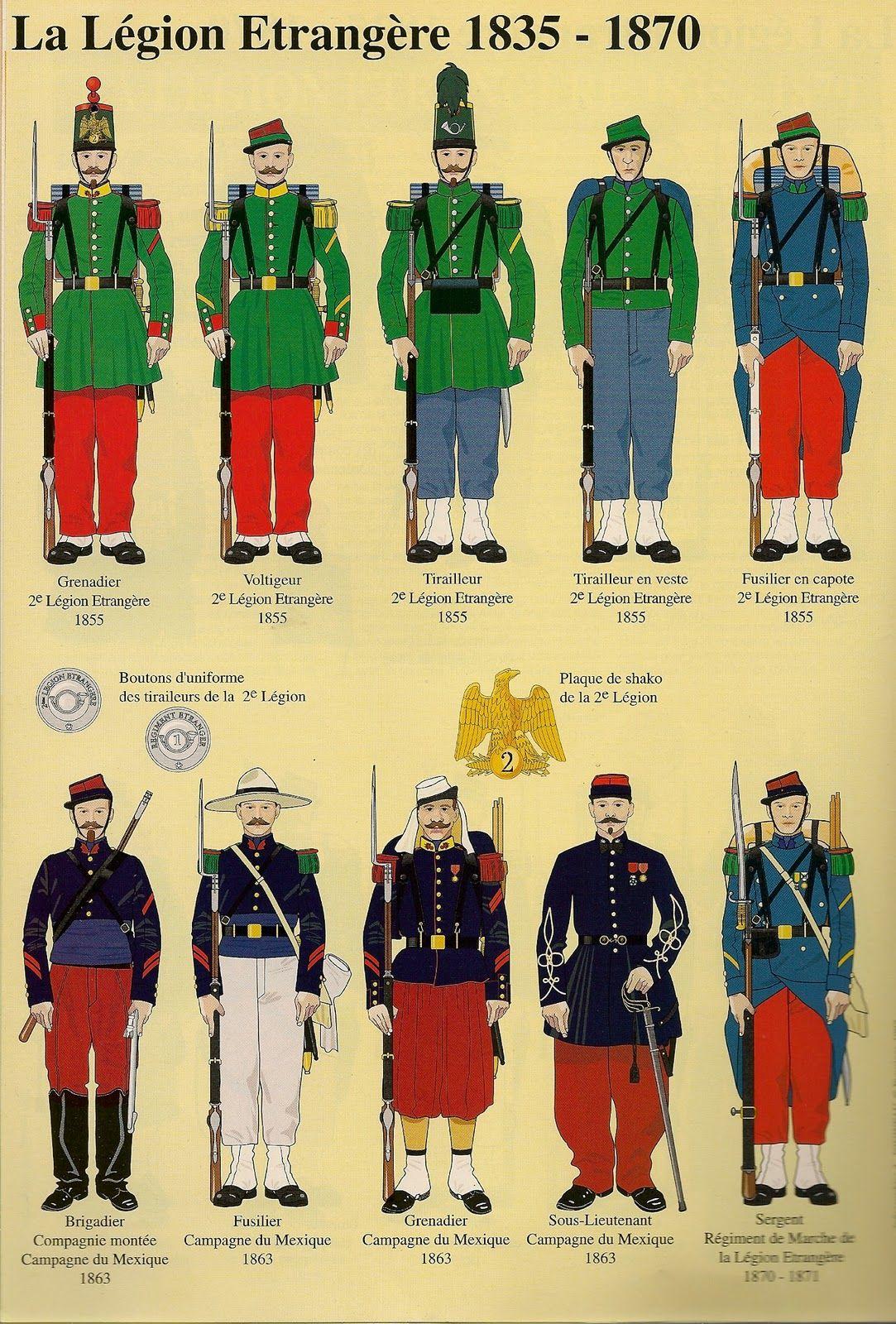 French Foreign Legion (1835 - 1870)