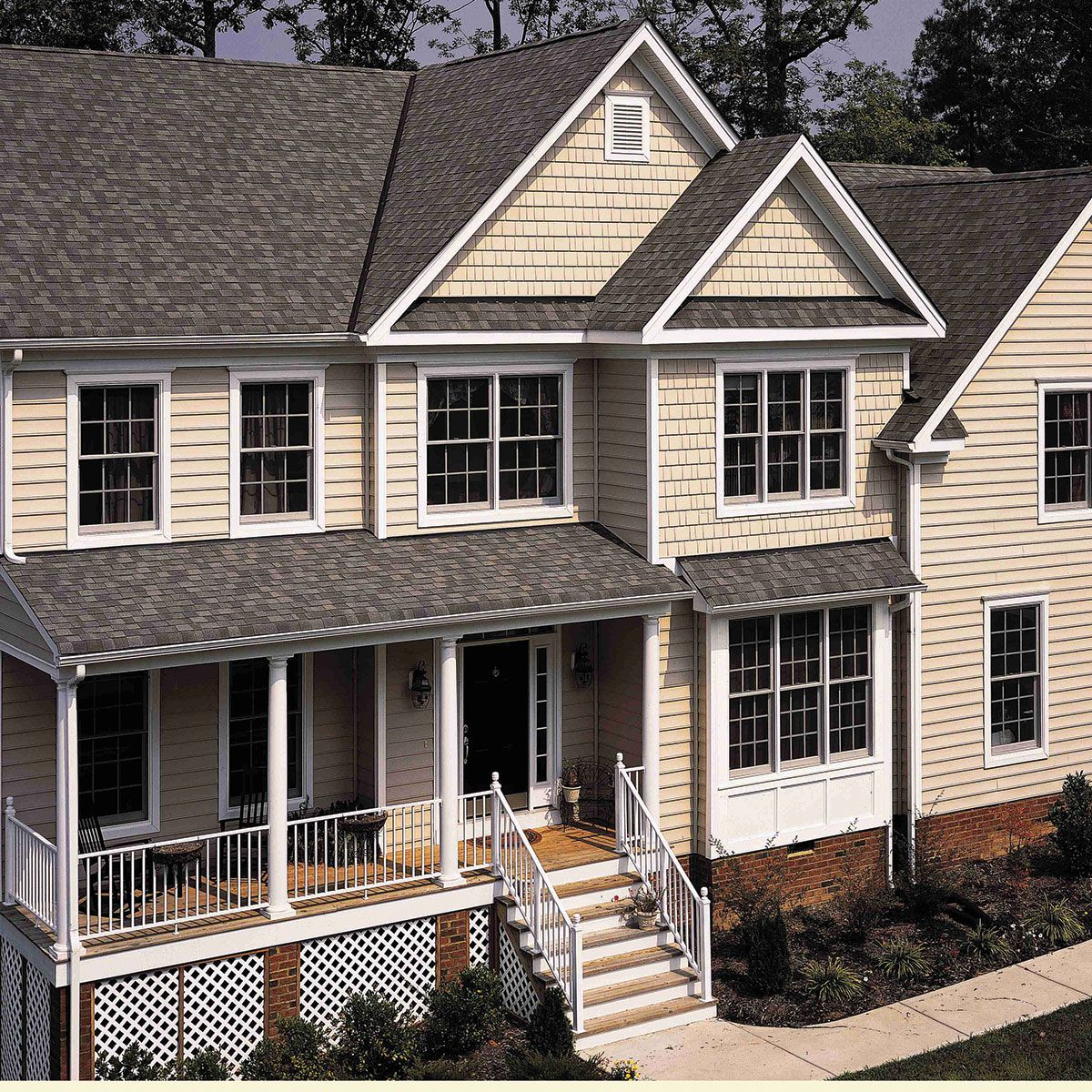 Best Ct Landmark Weathered Wood Gable Roof Design Wood 400 x 300