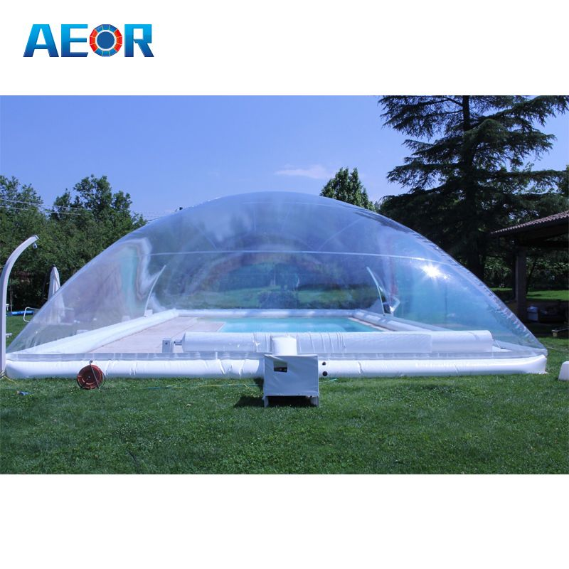 New Design Inflatable Pools Cover Inflatable Transparent Pool Dome Tent For Outdoor Find Complete Details Abou Pool Cover Outdoor Inflatables Inflatable Pool