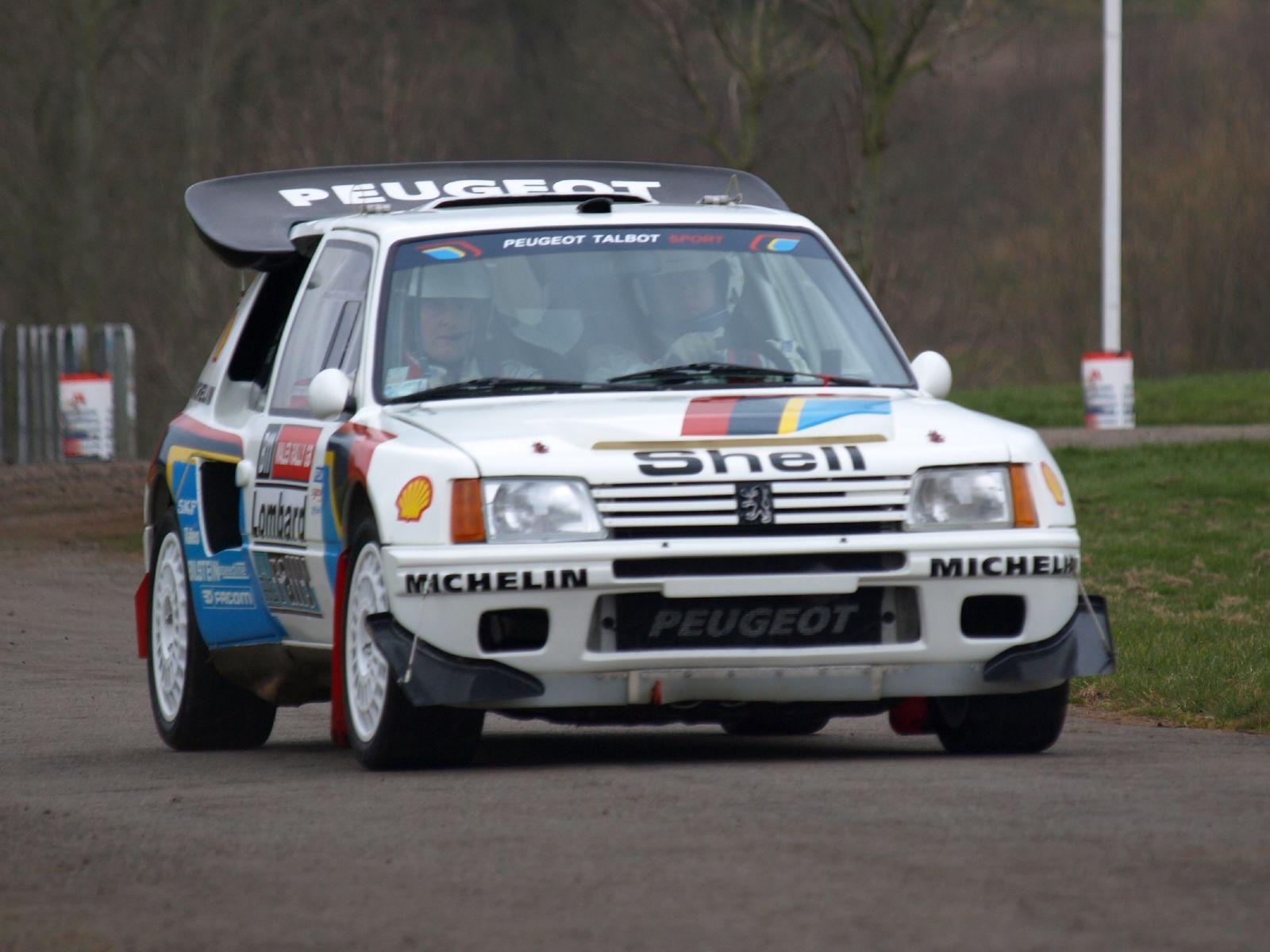 playtoy peugeot 205 gti 1.9 race car. spec: lad motorsport head