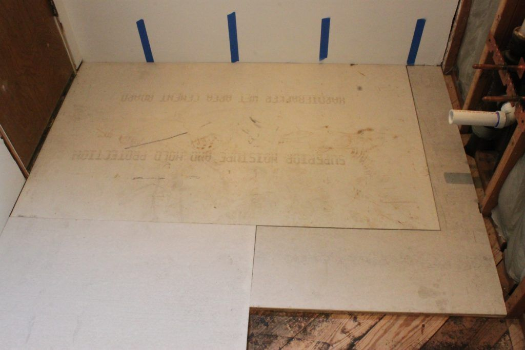Plywood Or Cement Board For Bathroom Floor Bathroom Ideas