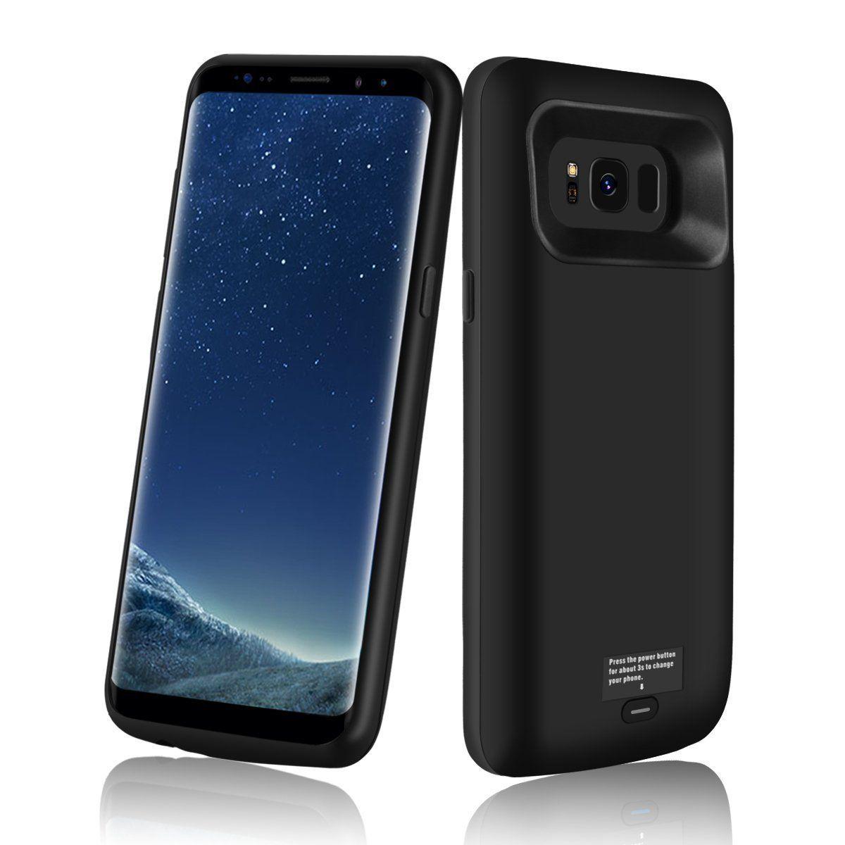 Galaxy S8 Battery Case, Meritcase 5000mAh Protective