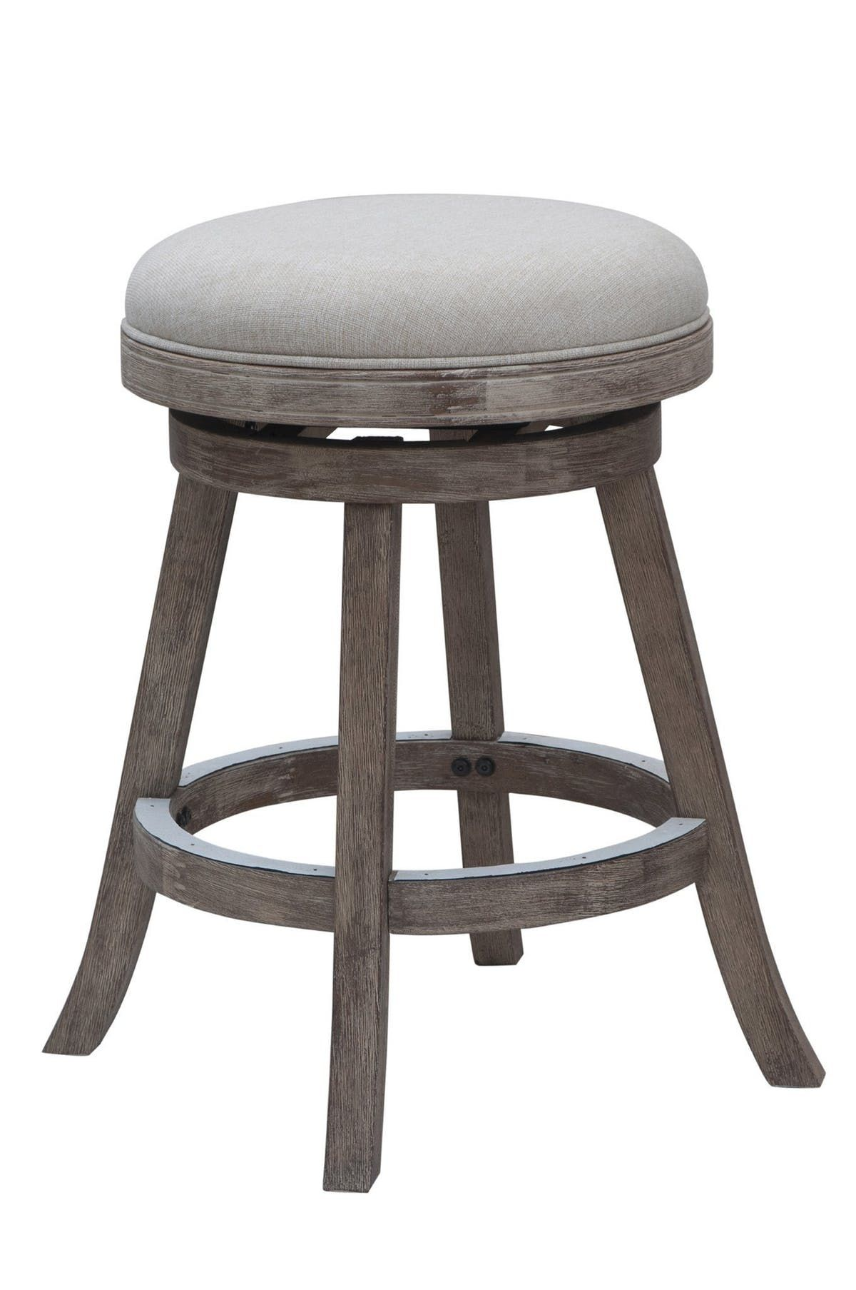 Unique Backless Swivel Counter Stool