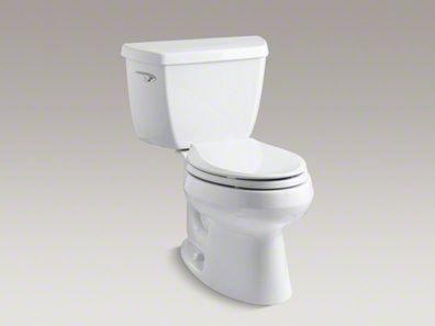 Kohler Wellworth With Pressure Assisted Flush Toilet Kohler Dual Flush Toilet