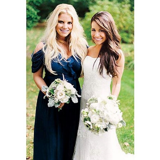 Celebrity Wedding Guest Outfits 2019: Bridesmaid Jessica Simpson Stood By Her Publicist Lauren