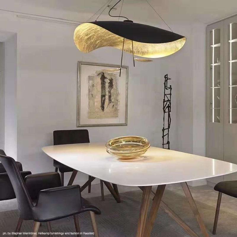 Led Pendelleuchte Modern Welle Design Fur Schlafzimmer