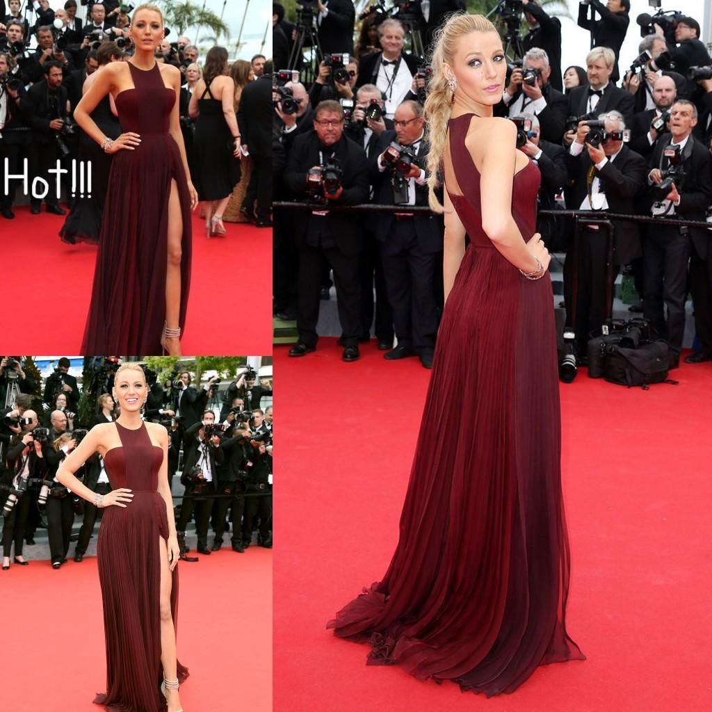 Blake Lively Cannes Celebrity Red Carpet Gowns 2015 Cheap ...