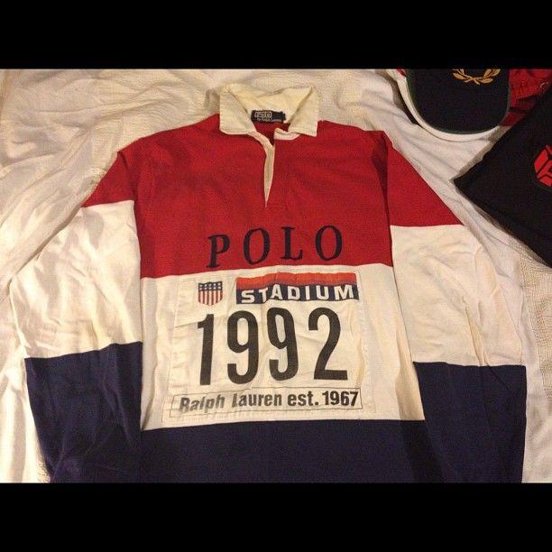 a62be0b6e57 just-blaze-1992-ralph-lauren-polo-stadium-rugby | Ralph lauren in ...
