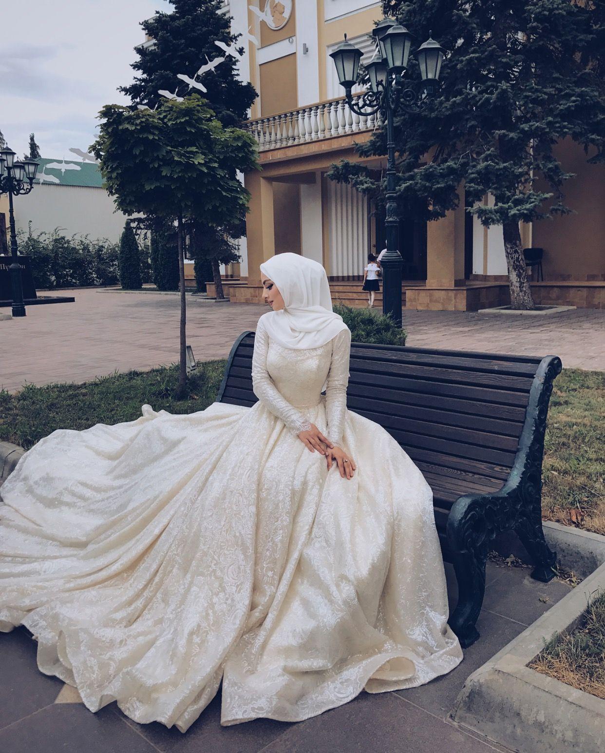 pinterest @adarkurdish  Muslimah wedding dress, Muslimah wedding