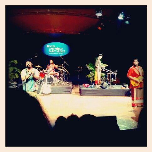 Awesome performance by raghu dixit at #ncpa, mumbai.