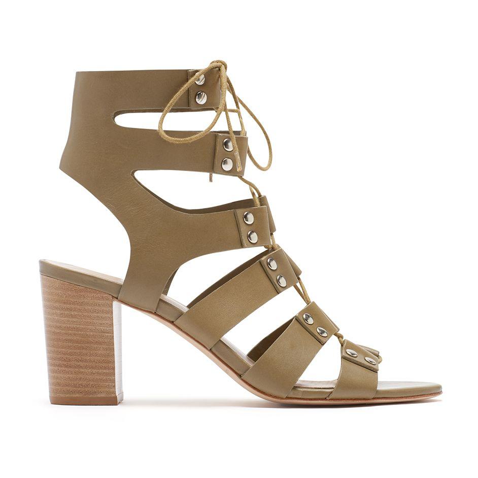 610b592a4bbe Loeffler Randall SS16 - Hana Gladiator Sandal in Olive