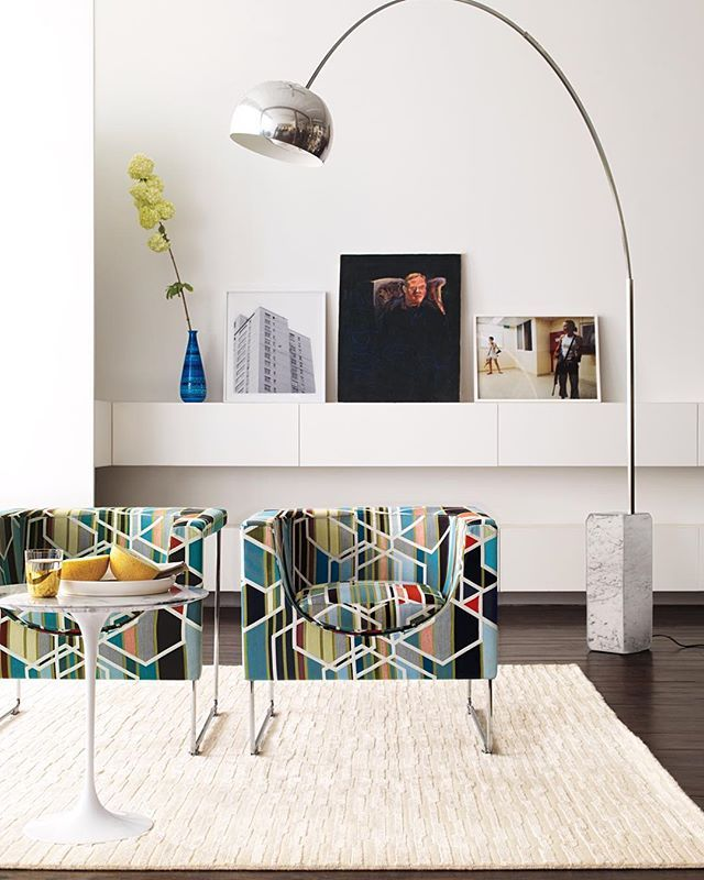 The Semiannual Sale ends soon! Shop now at your local studio or visit www.dwr.com to save hundreds on thousands of items, including products available exclusively at #DWR. (Pictured: Nube Armchair by @stuadesign, Arco Floor Lamp from @flos_usa, Broken Stripe Rug) #Castiglioni #design #designwithinreach