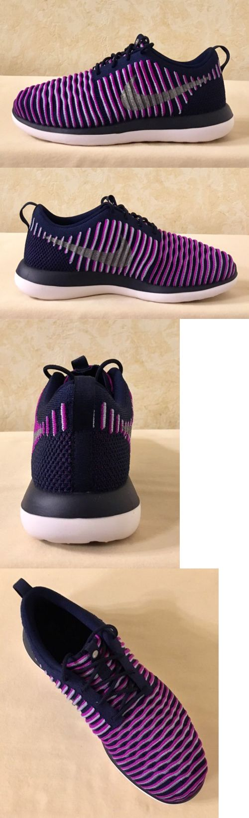 online store 0ce1c ee4ad netherlands girls shoes 57974 girls women nike roshe two flyknit gs  athletic shoes purple and silver