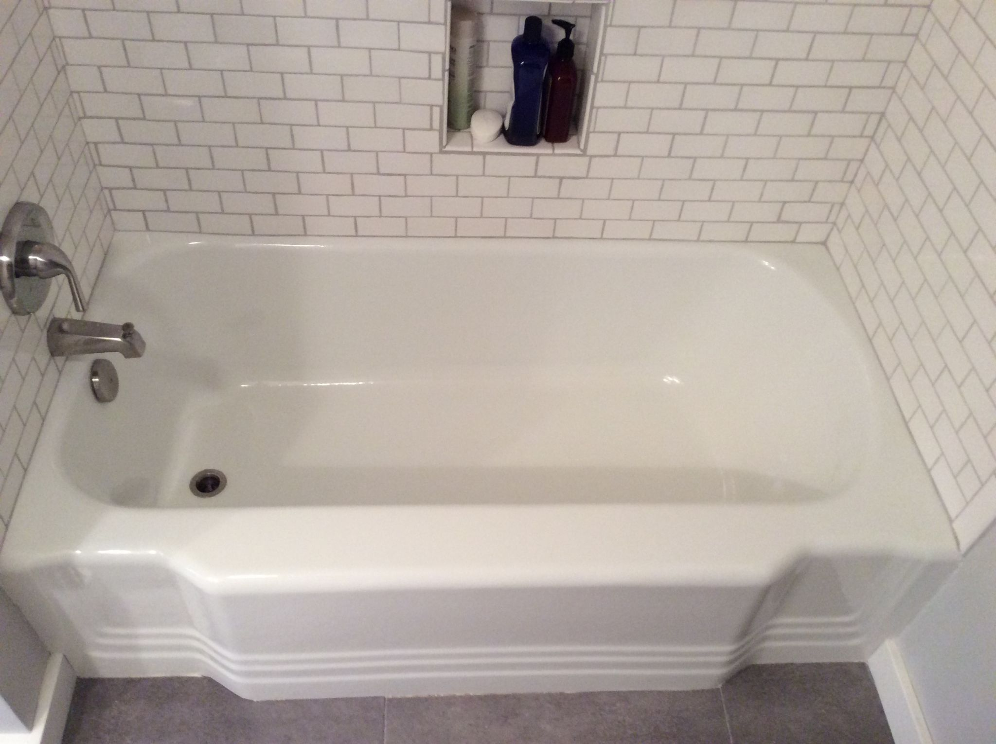 refinished cast iron tub - Google Search | .Bathroom. | Pinterest ...