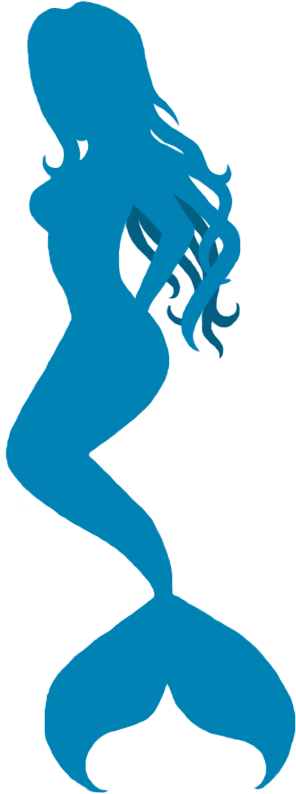 Mermaid Silhouette By Slightdelirium On Deviantart Mermaid Tattoos Silhouette Clip Art Mermaid Art