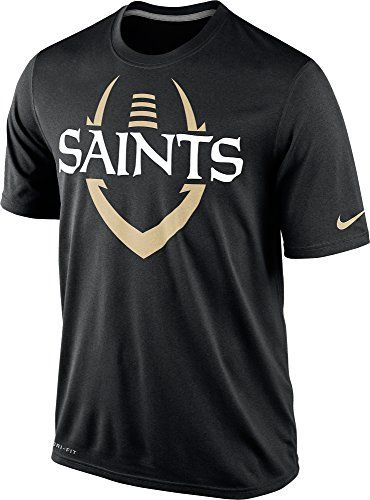 NIKE Nike New Orleans Saints Nfl Wordmark Football Legend Icon Bolt Dri-Fit  Mens T-Shirt.  nike  cloth   95323026a