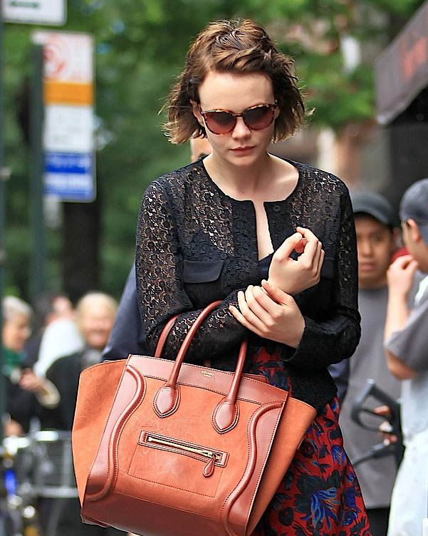 Celebrities and their Celine Luggage Totes  A Retrospective 55a9dcc2fd099