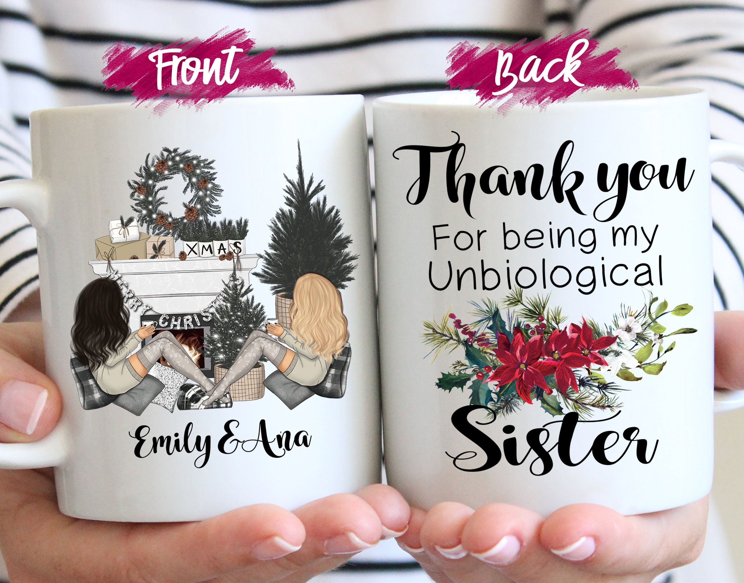 Custom Birthday Gift For Girlfriends Personalized Bridesmaid Gifts Inspirational Gifts For Sisters Custom Gifts For Best Friends