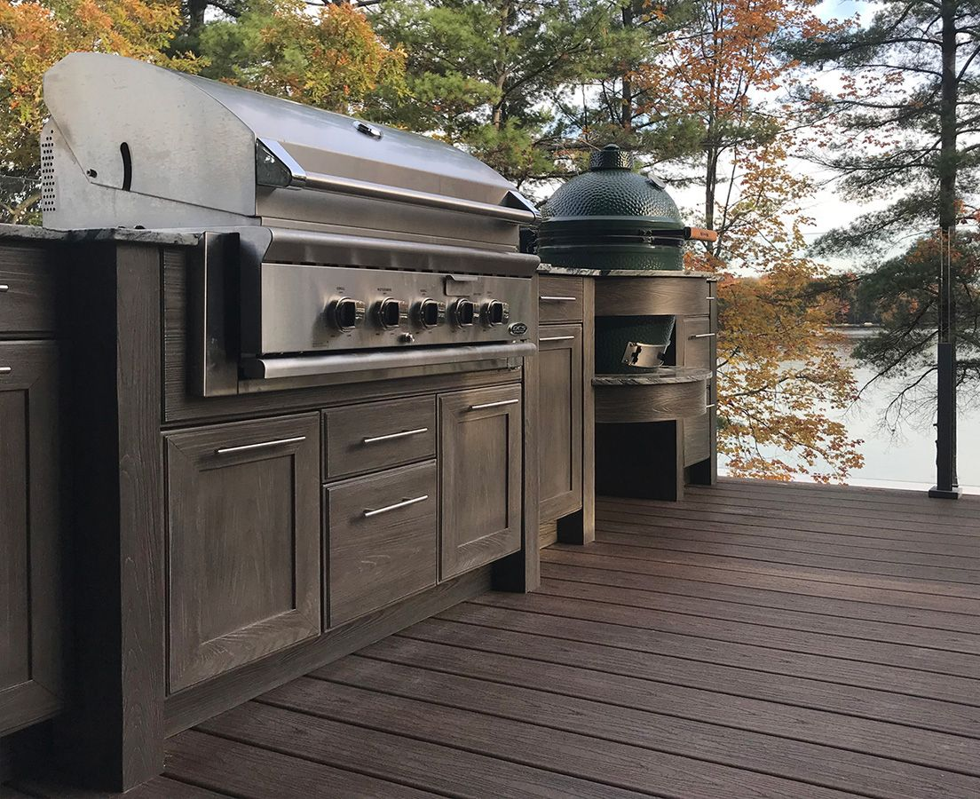 An Outdoor Kitchen Doesn T Have To Be Huge We Can Design Something That Fits Your Outdoor Space Which Ca Outdoor Kitchen Design Kitchen Design Outdoor Kitchen