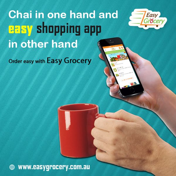 Chai ☕ in one hand and easy shopping app 📲 in another hand✋ order easy with #EasyGrocery 😍  Easy Grocery is an online 💻 supermarket for all your daily needs. Online shopping 🛒 now made easy with a wide range of groceries and home 🏡 needs.  #groceryshopping #groceryonline #grocery #onlineshopping #sydneymarket #syndneylocal #sydneyonline #EasyGrocery #groceryshop #healthyfood #shoppingaddict #shoppingtime #shopping #healthyeating #supportlocal #onlinegrocerystore #onlinegrocery #onlinevegeta