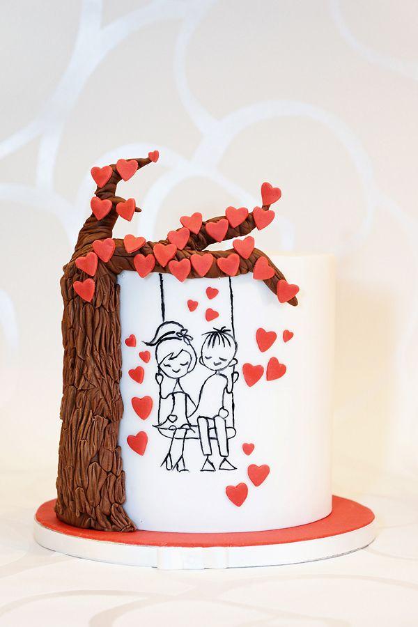 Be my Valentine heart  Meine Torten  Torten
