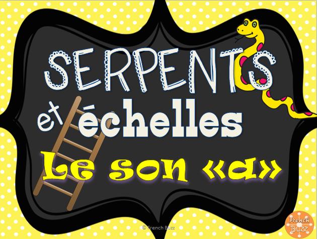 Le son a serpents et chelles ecole teaching french how to speak french et french classroom - Jeu de ninjago contre les serpents gratuit ...