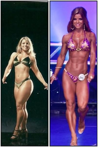 Jen Jewell Before and after, talk about motivation ...