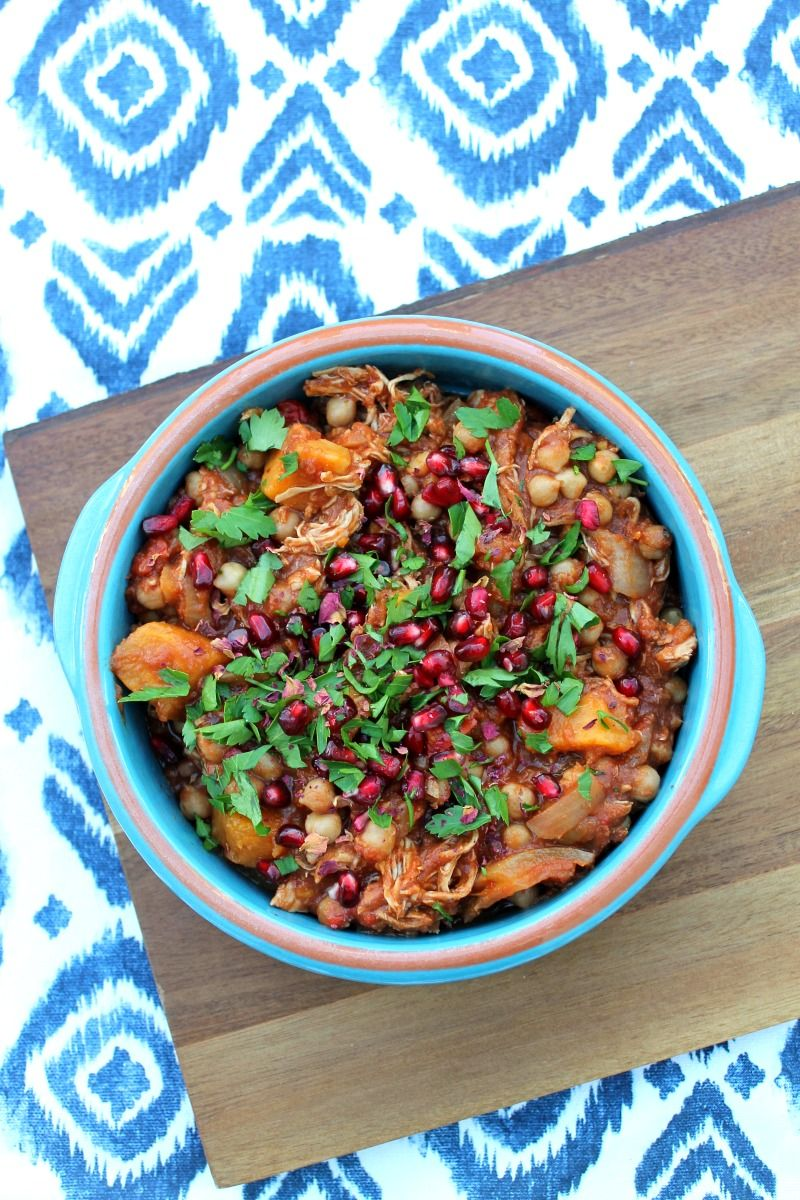 Slow Cooker Chicken And Sweet Potato Tagine On Bakingqueen74 Co Uk
