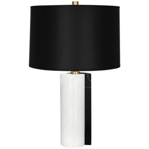 Jonathan Adler Canaan Black Dual Marble Table Lamp 19a69 Lamps Plus Marble Table Lamp Table Lamp Black Lamps