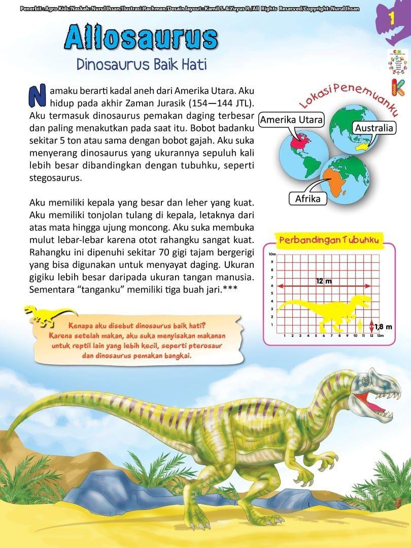 Kadal Berukuran Besar Yang Hidup Di Amerika : kadal, berukuran, besar, hidup, amerika, Pintar, Ensiklopedia, Dinosaurus, Binatang, Purba, Katabaca.com, Dinosaurus,, Binatang,