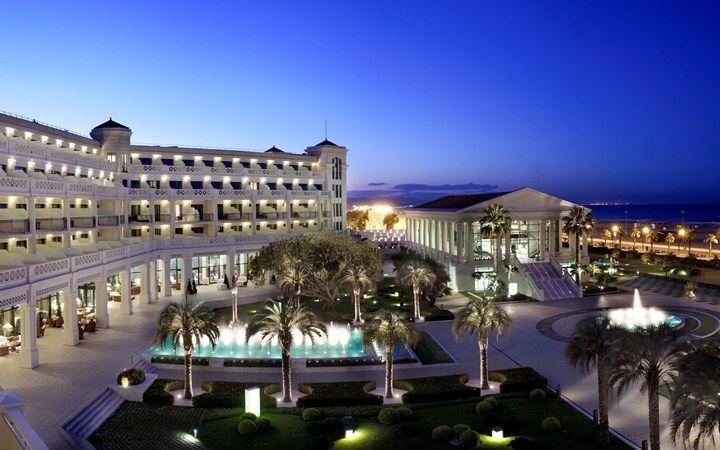Hotel Las Arenas Balneario Resort Valencia Spain Luxury Travel