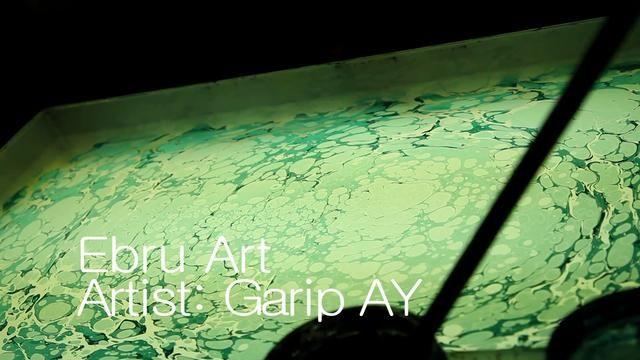 Ebru Art @ American Islamic College by American Islamic College. Watch artist Garip Ay perform the art of Turkish Ebru.