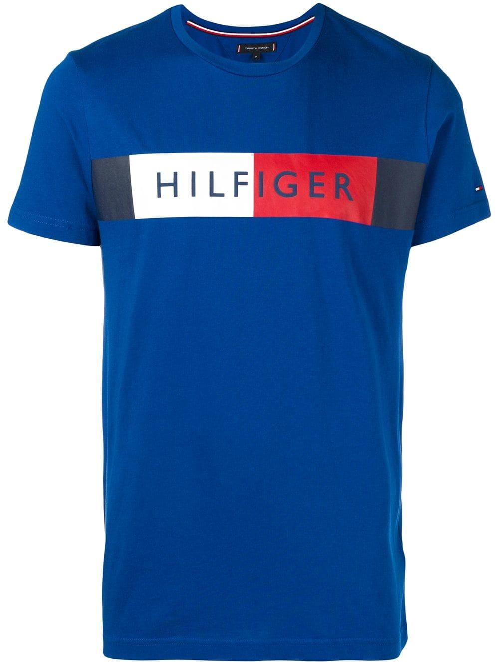 TOMMY HILFIGER T Shirt blau