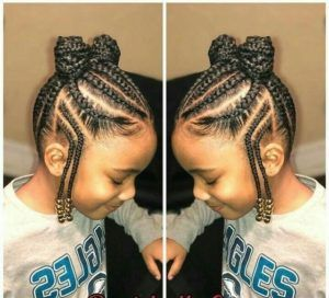 35 Natural Hairstyles For Black Girls Natural Hairstyles For Kids Little Girl Braid Hairstyles Girls Hairstyles Braids