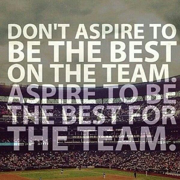 sports analogies for teamwork
