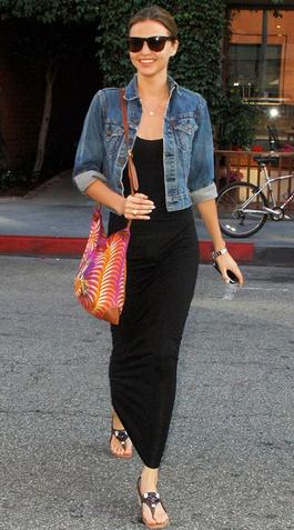 jean jacket maxi dress find more women fashion on misspool.com