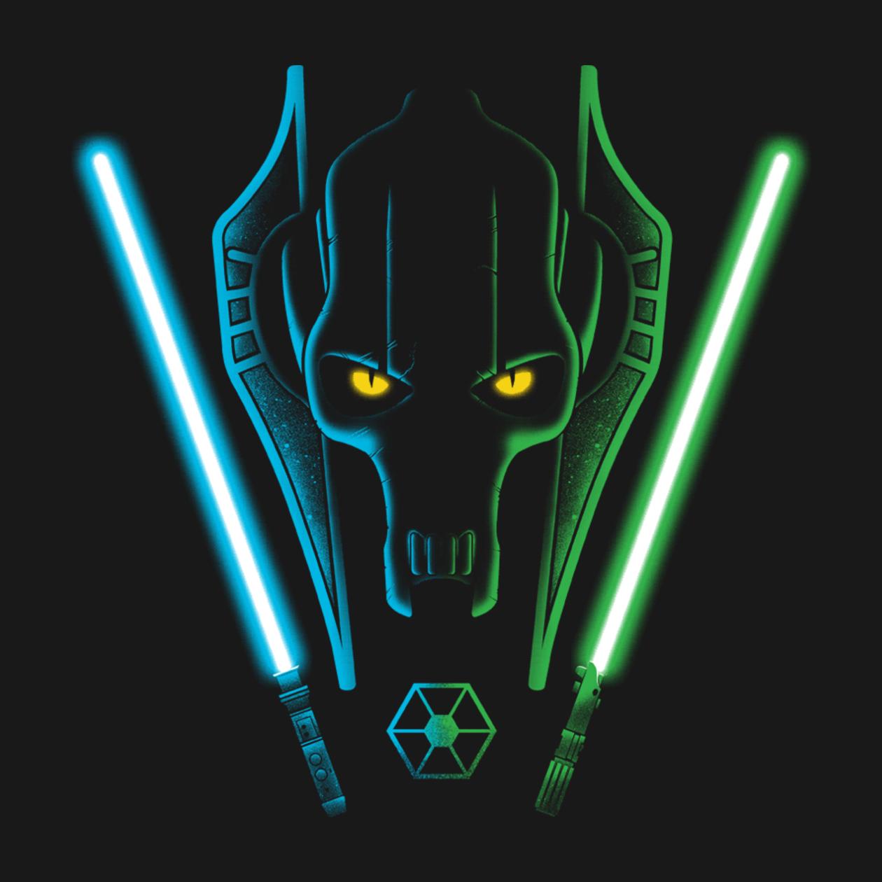 The General General Grievous T Shirt The Shirt List Star Wars Images Star Wars Geek Star Wars Villains