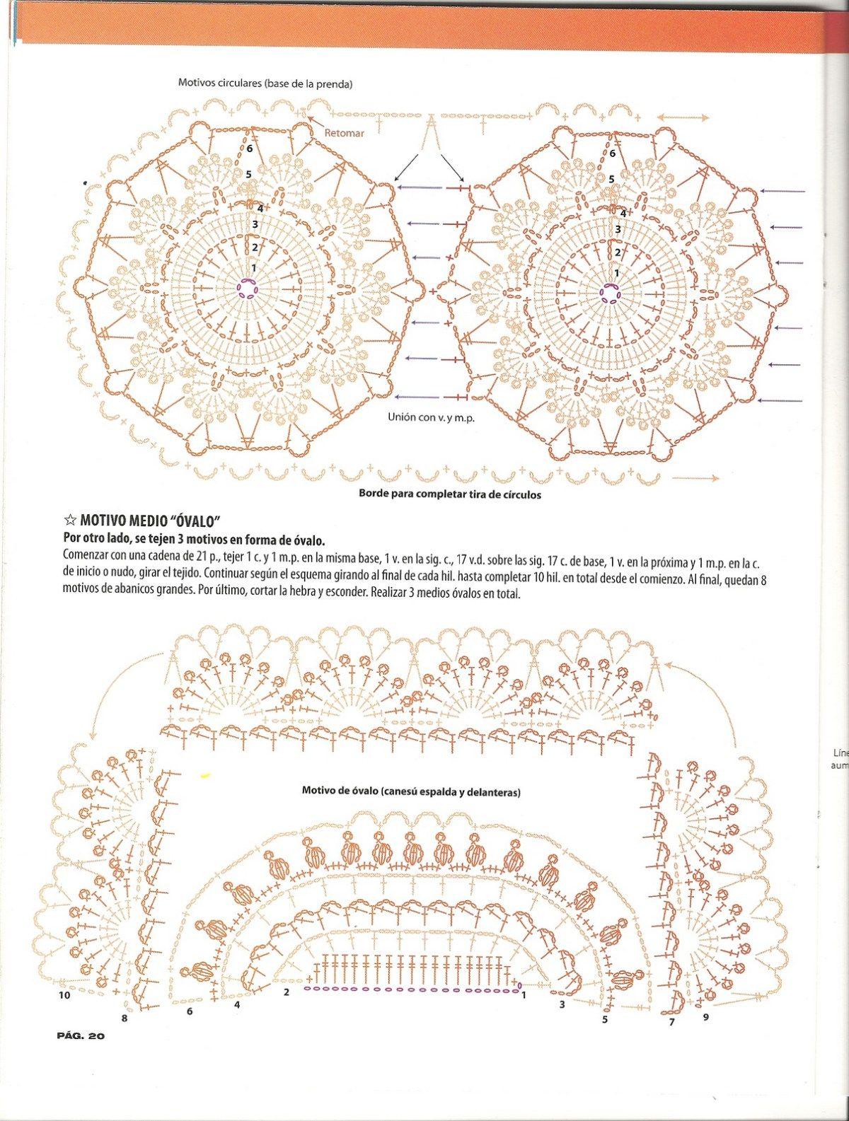 escanear0020 | Diagramas en 2018 | Pinterest | Croché, Boleros y Túnicas