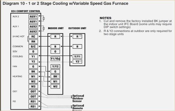 trane air handler wiring diagram  thermostat wiring